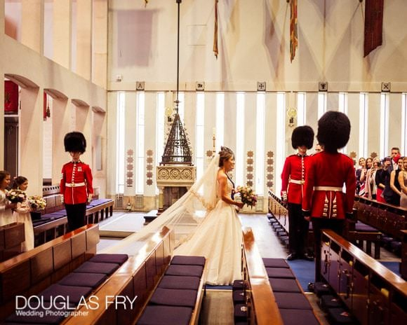 The Guards' Chapel and Cavalry and Guards Club Wedding Photographer 3