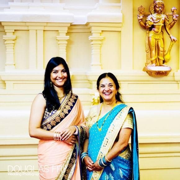 Photography of guests at London Hindu Temple