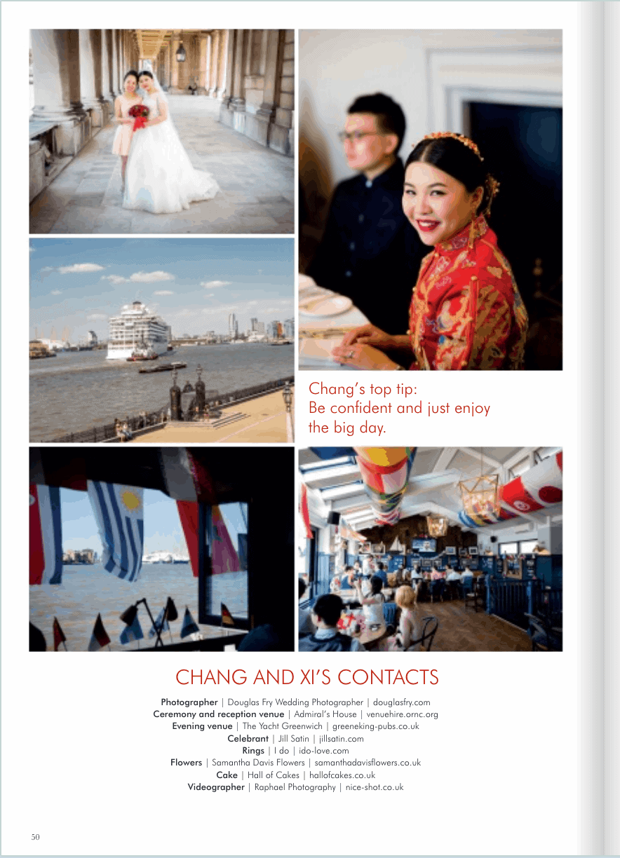 Royal Naval College Chinese wedding photography