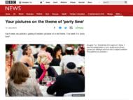 Photograph by Douglas Fry appearing on BBC News website