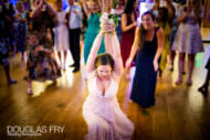 Photography of Bride Throwing Her Wedding Bouquet at Gray's Inn in London!