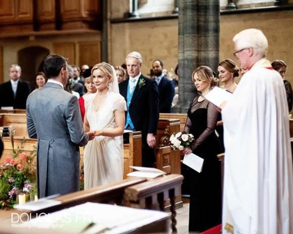 Wedding Ceremony in Temple Church