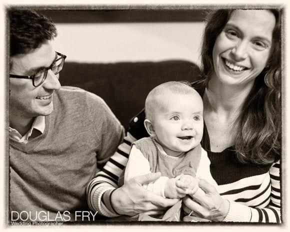 Family photographer London - group shot