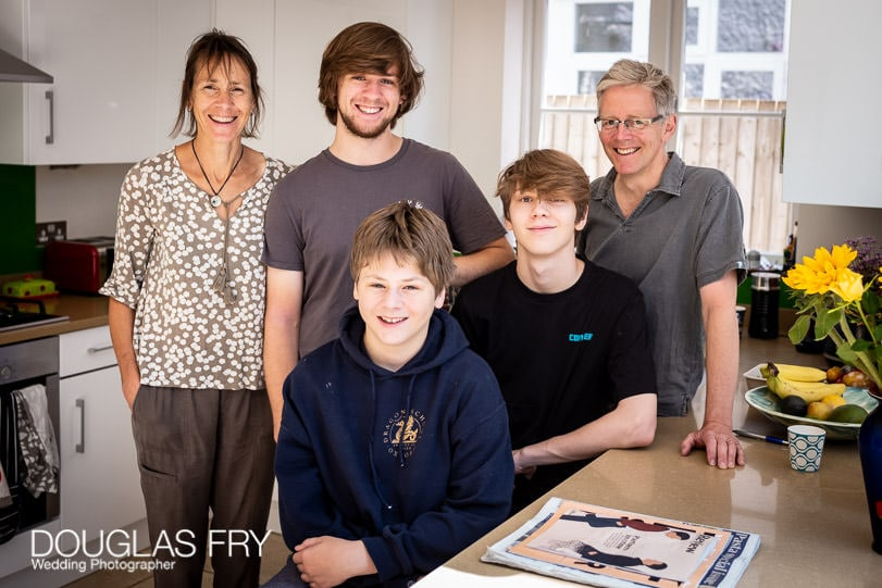 Post Lockdown - Oxford Family Photography - Teenagers and Parents 1
