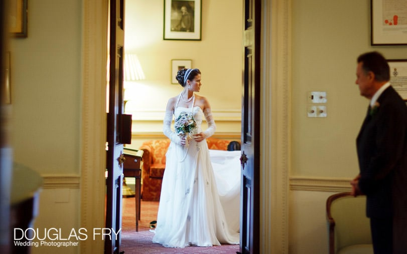 London wedding details - the Lansdowne Club
