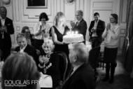 Birthday part photographer - the cake at the in and out club in london