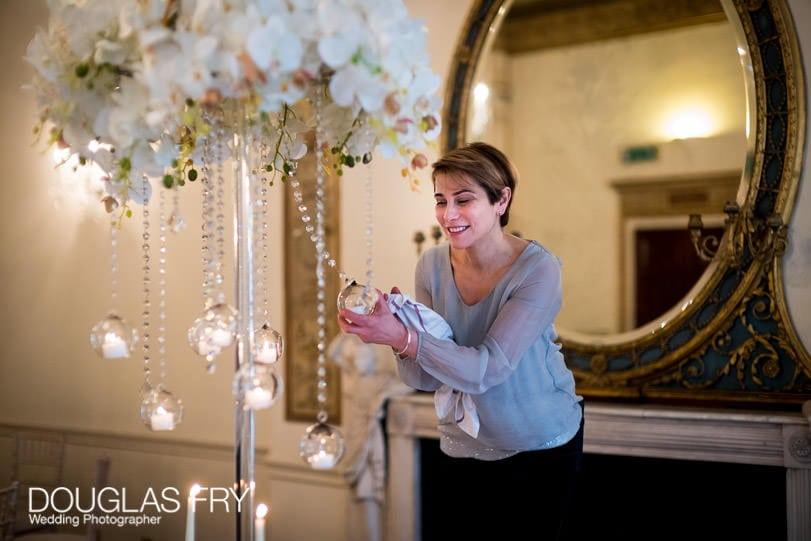 Wedding Photographer London picture of florist