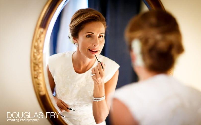 Wedding photographer London - Mandarin Oriental - Bride getting ready