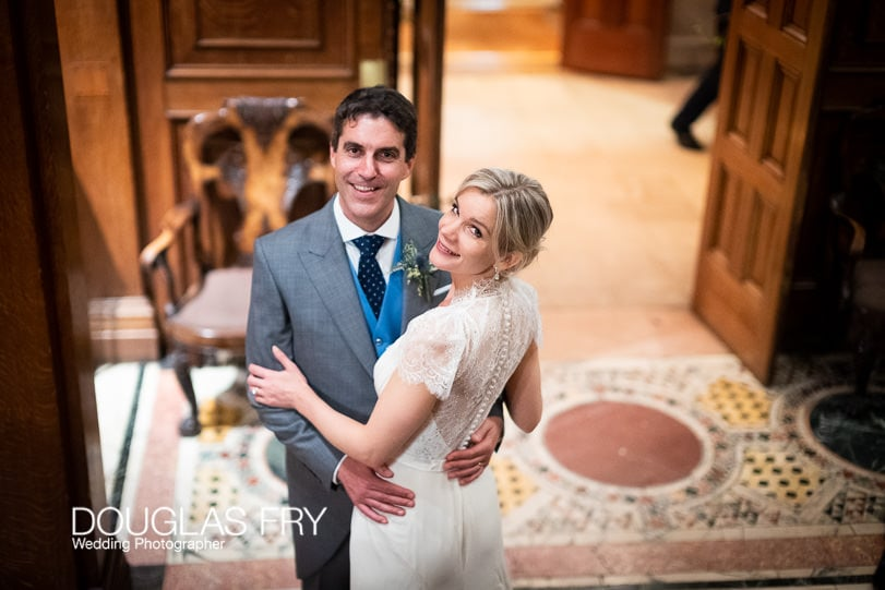Couple in London photographed with Leica Noctilux Lens in low light
