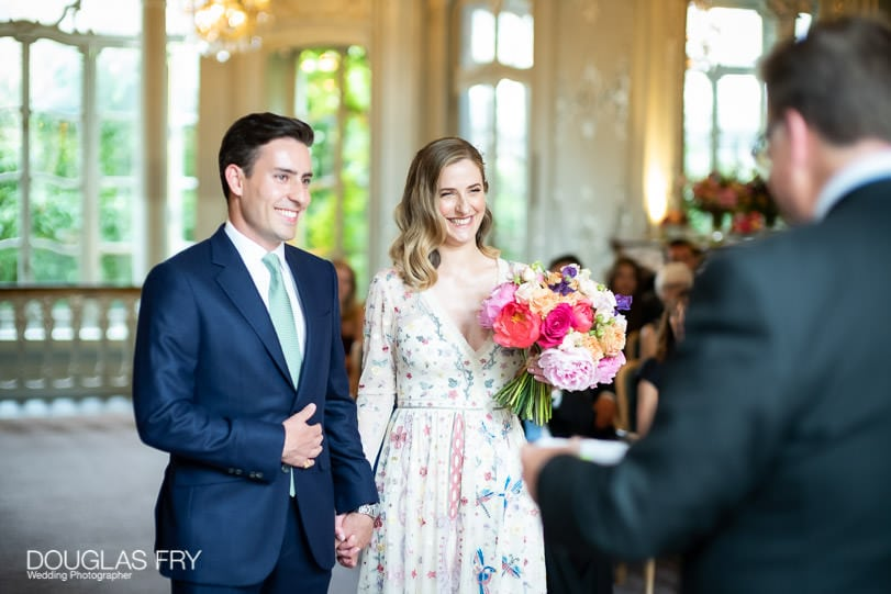 Wedding photography in London at the Savile Club
