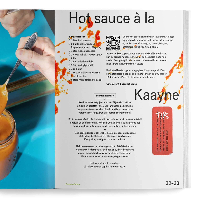 Hot sauce à la Kaayne