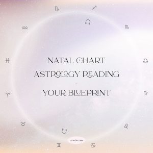 NATAL CHART READING ASTROLOGY READING GIRL AND HER MOON