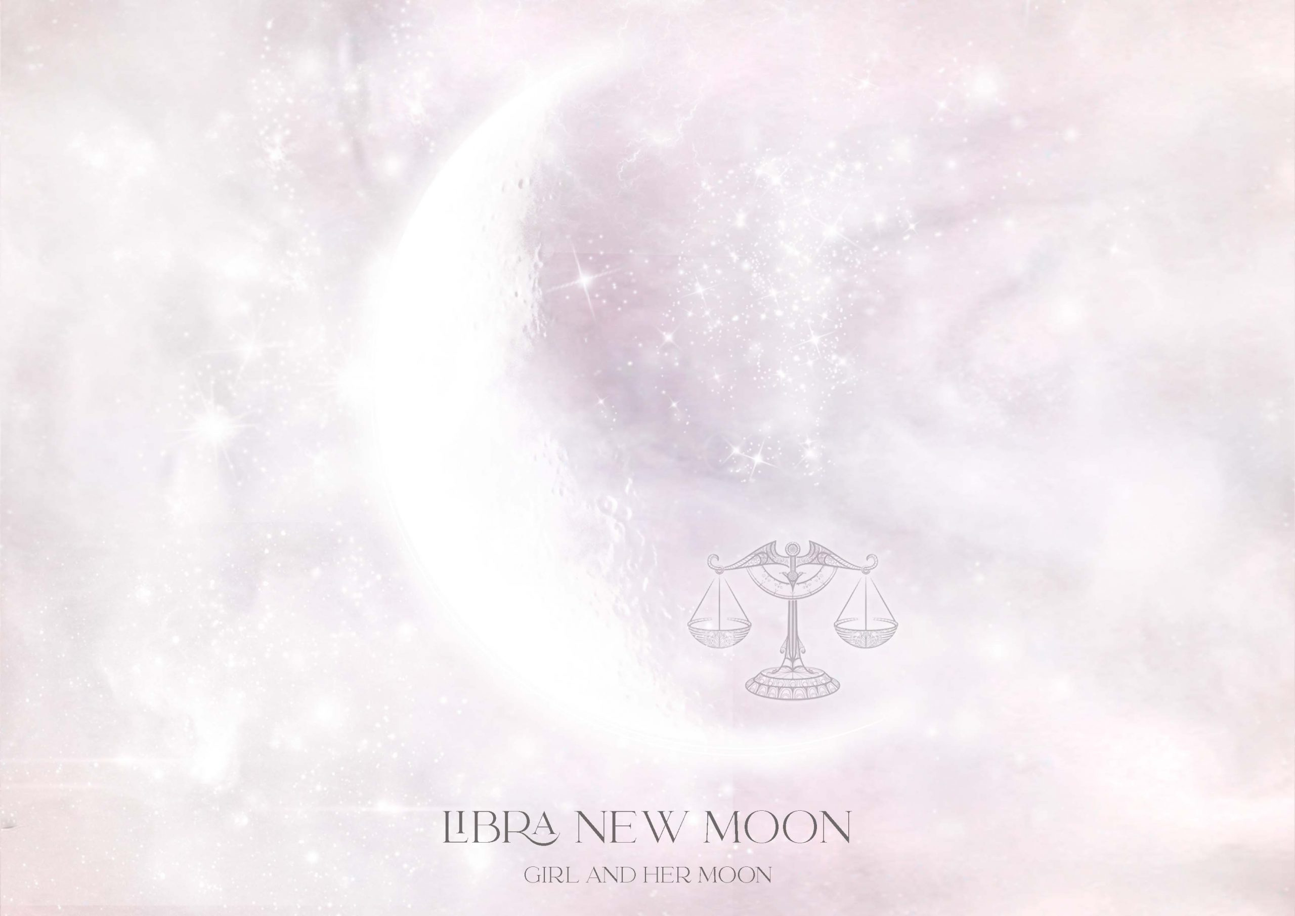Libra New Moon October 2021 Ritual Girl and Her Moon