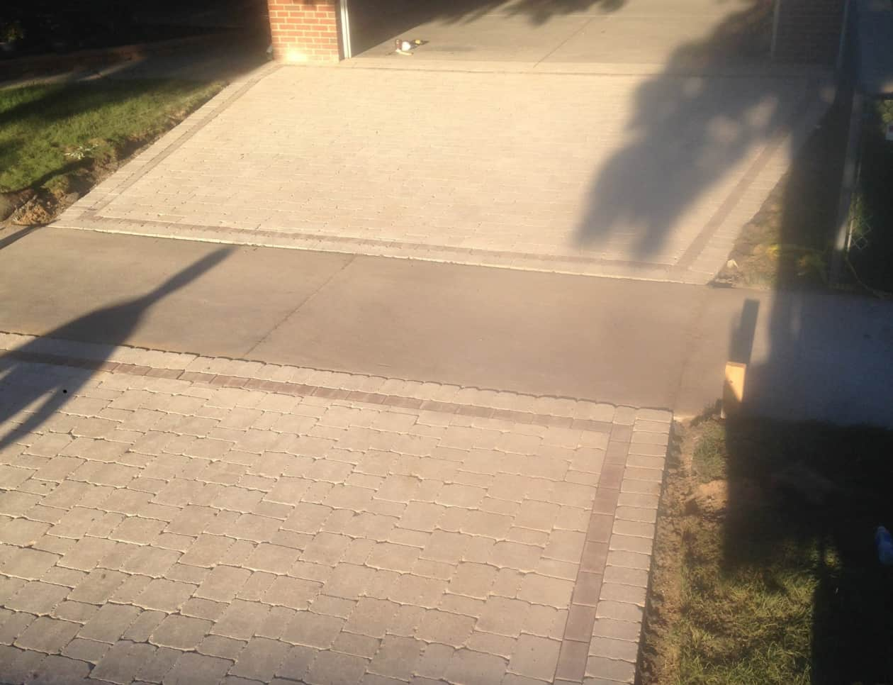 fancy brick driveways