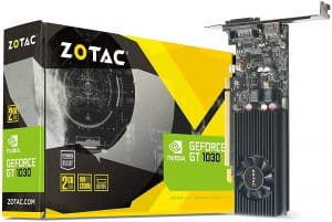 ZOTAC GEFORCE GT 1030 2GB GDDR5 low profile