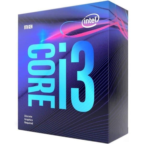 INTEL CORE i3-9100F UP TO 4