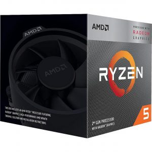 AMD RYZEN 5 3400G 3.7GHz (Upto 4