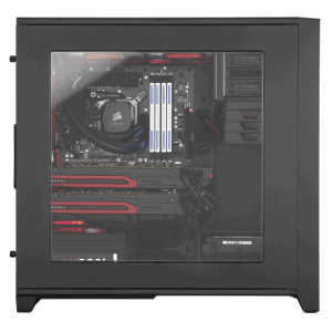 CORSAIR Obisidian 350D WINDOWED