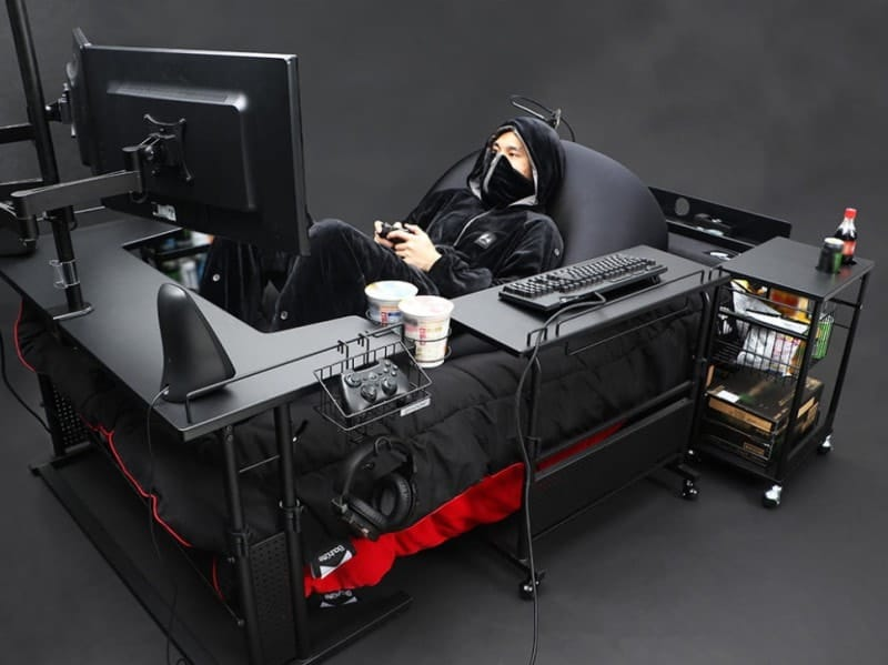 Gaming Bed Side View