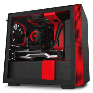 NZXT H210i BLACK RED