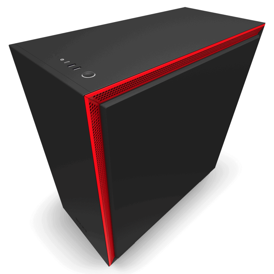 NZXT H710 BLACK RED