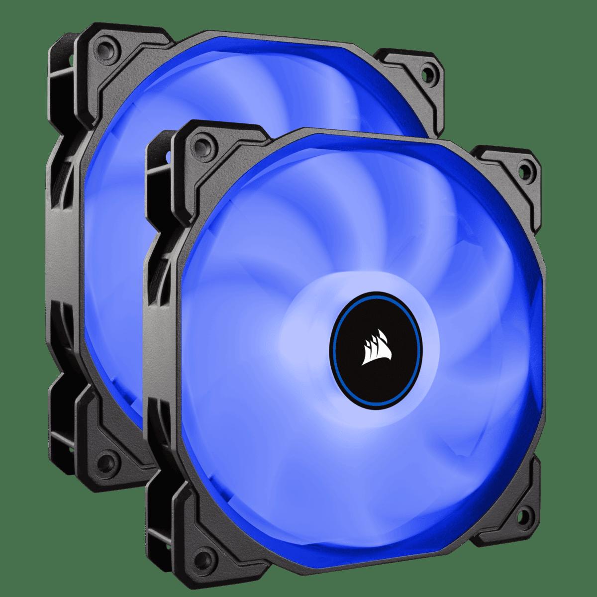 CORSAIR AF140 BLUE LED FAN-DUAL PACK
