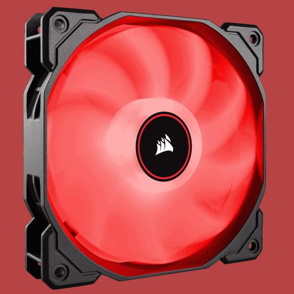 CORSAIR AF140 RED LED FAN