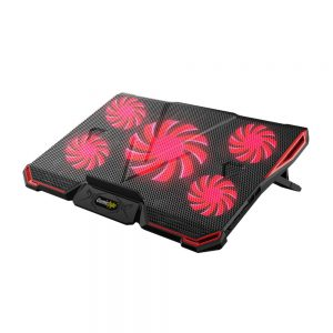 COSMIC BYTE ASTEROID LAPTOP COOLING PAD-RED