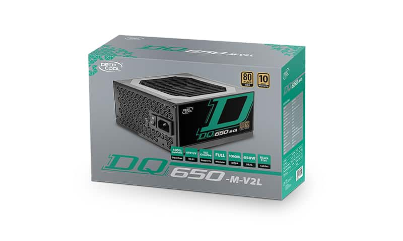 DEEPCOOL DQ650-M-V2L 80 PLUS GOLD