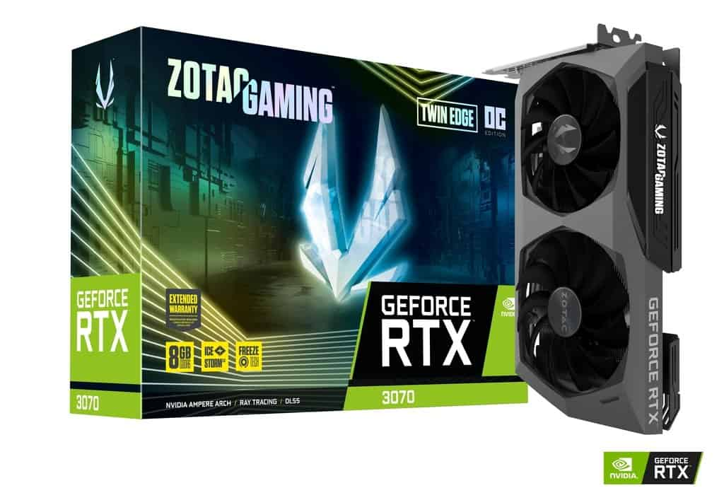 ZOTAC GAMING GEFORCE RTX 3070 TWIN EDGE OC 8GB GDDR6