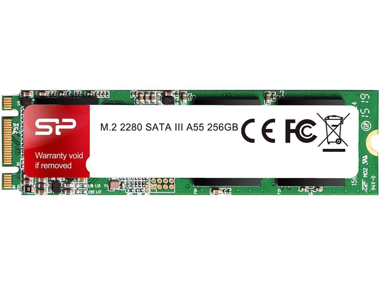SILICON POWER P34A60 M.2 2280 256GB SSD