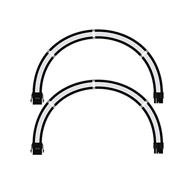 ANT ESPORTS MODPRO EXTENSION CABLE WHITE-3
