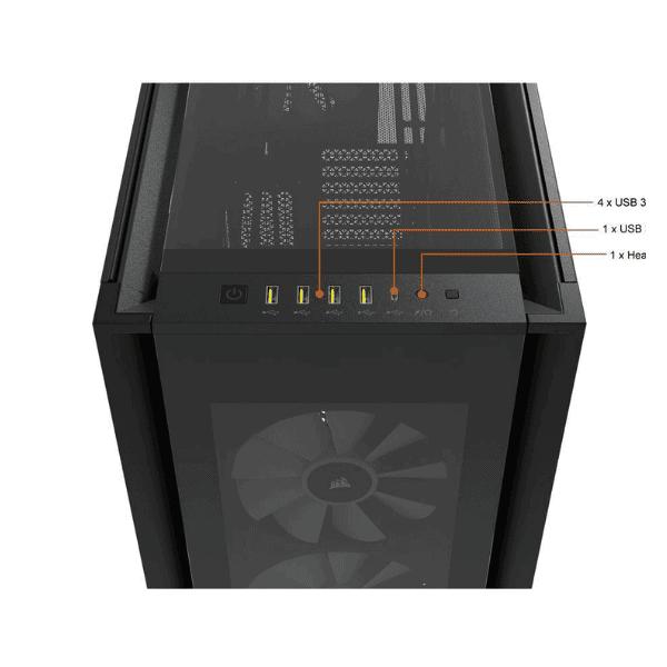 CORSAIR iCUE 7000X RGB BLACK-2