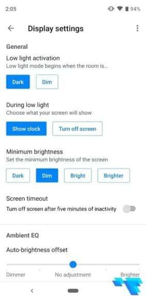 Google Nest Hub App Display Settings
