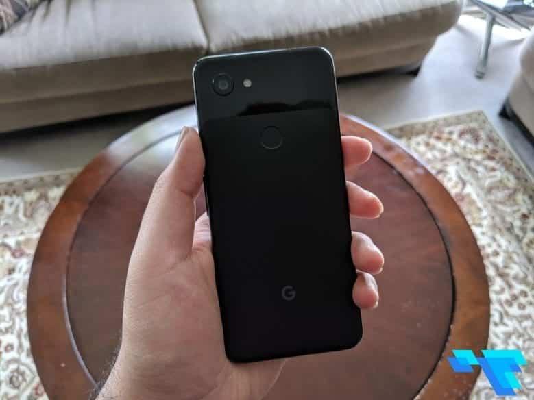 Google Pixel 3a Back