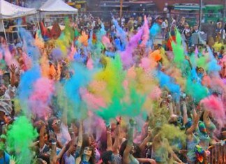 Festival of Colors Holi NYC