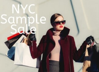 NYC Sample Sale Listing